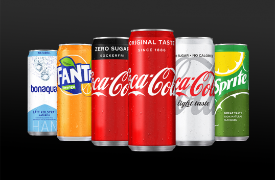 Nu når Coca-Cola nya höjder