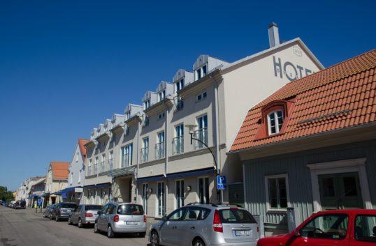Stjärna till Hotell Borgholm i Guide Michelin