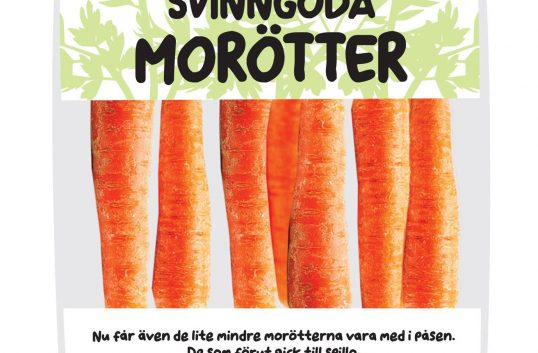 Axfood vill rädda 100 ton morötter