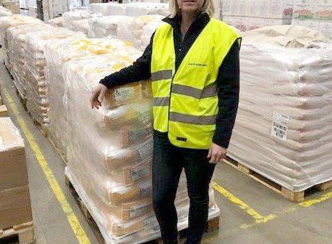 Martin & Servera har skänkt 44 ton