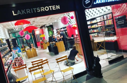 Sveriges största laktritsbutik öppnar i city