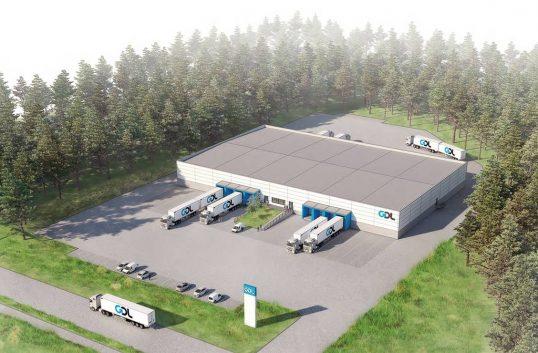 Bygger terminal för Coop Värmland
