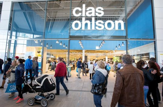 Stark julimånad för Clas Ohlson