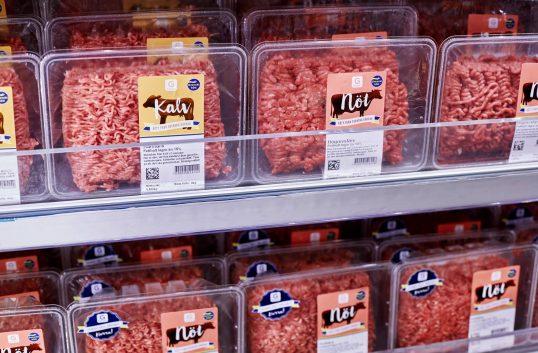 Axfood kampanjar för svenskt kött