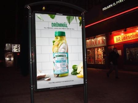 Brämhults nysatsar på smoothies i riktigt fruktig kampanj över hela landet
