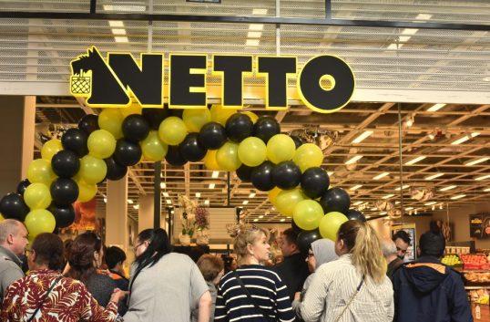 Nya butiker och nytt koncept ska ge Netto-vinst