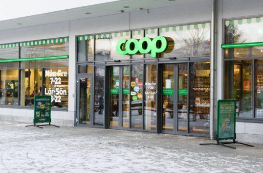 Supermarket in Kristianstad for Coop