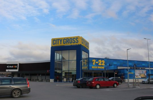 Enbart click & collect hos City Gross