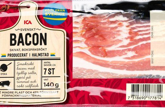 Nu blir Icas bacon helsvenskt