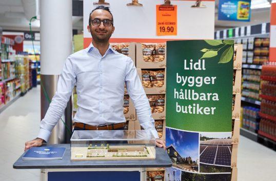 Lidl nominerat för grönt byggande