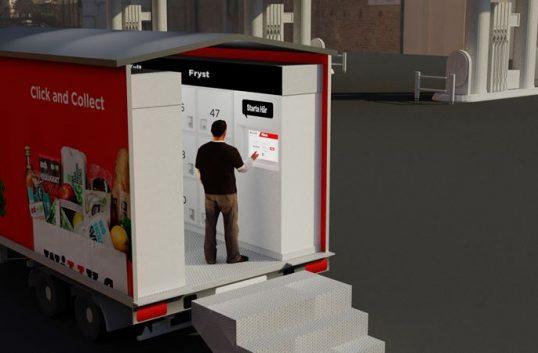 Willys testar mobila hämtstationer för e-handeln