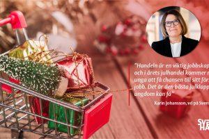 Årets julrapport: Julhandeln väntas skapa 15 000 extra jobb