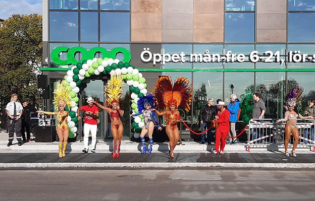 Nu har Coop öppnat nytt i Gävle