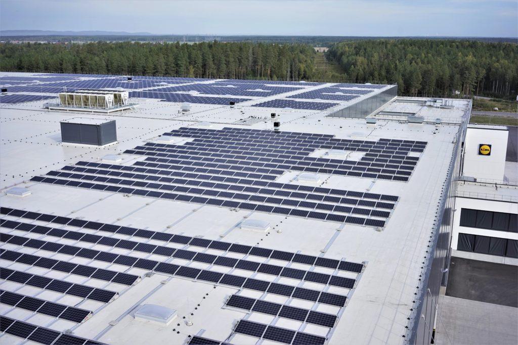 Lidl satsar mer på solenergi