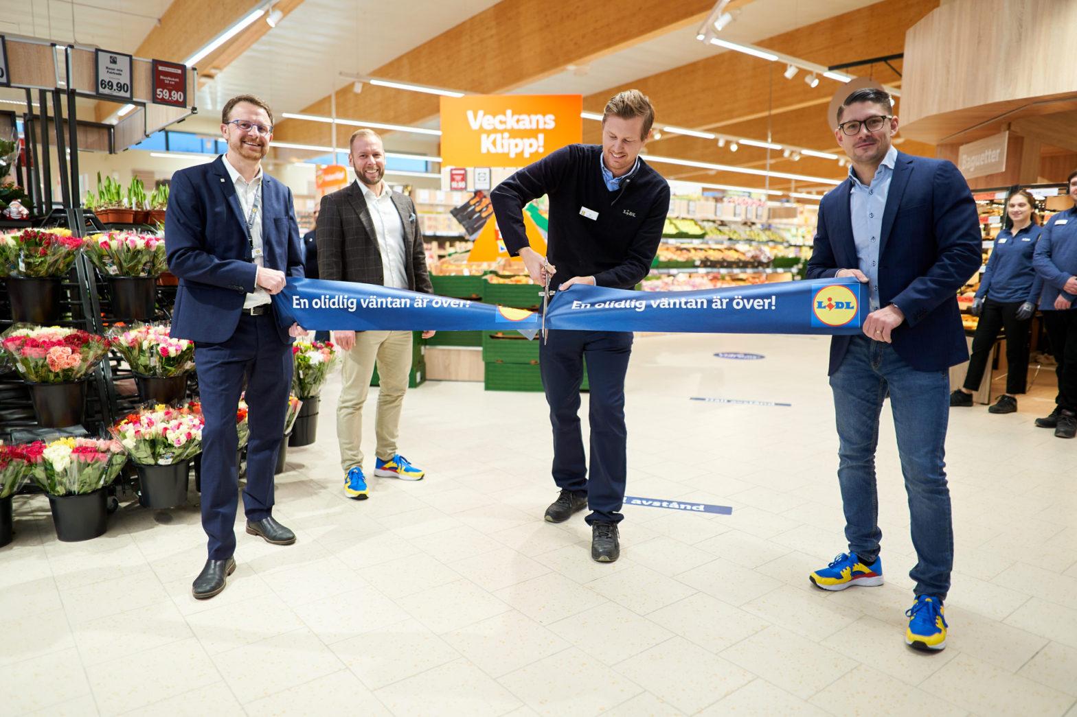 Nu börjar Lidl räkna igen – butik 201 öppnad