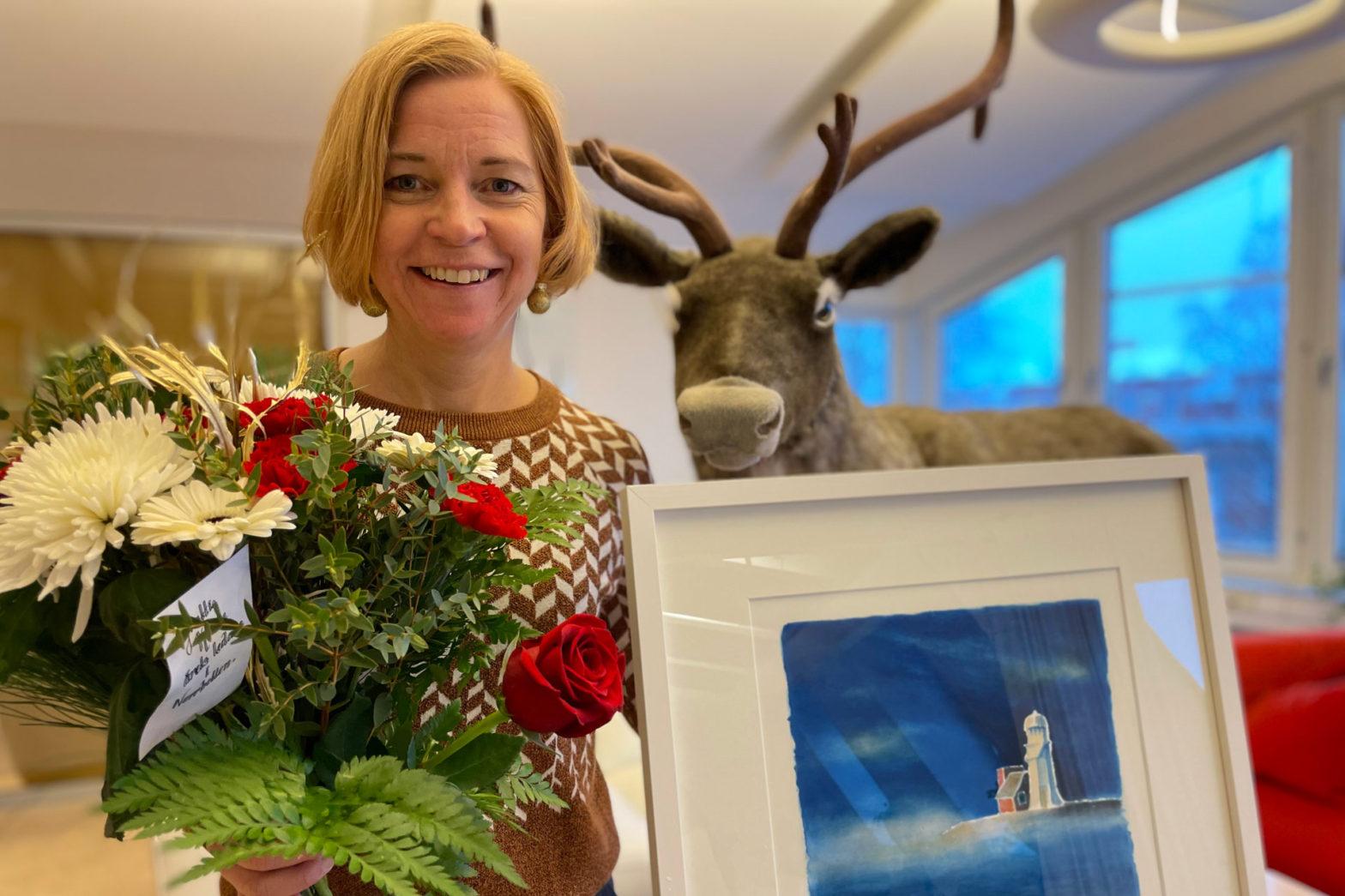 Polarbröds Karin Bodin är årets ledare