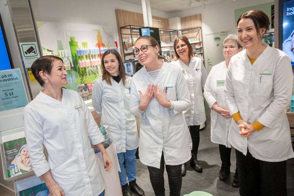 Apotek i Umeå är årets apotek 2020 på hjärtat