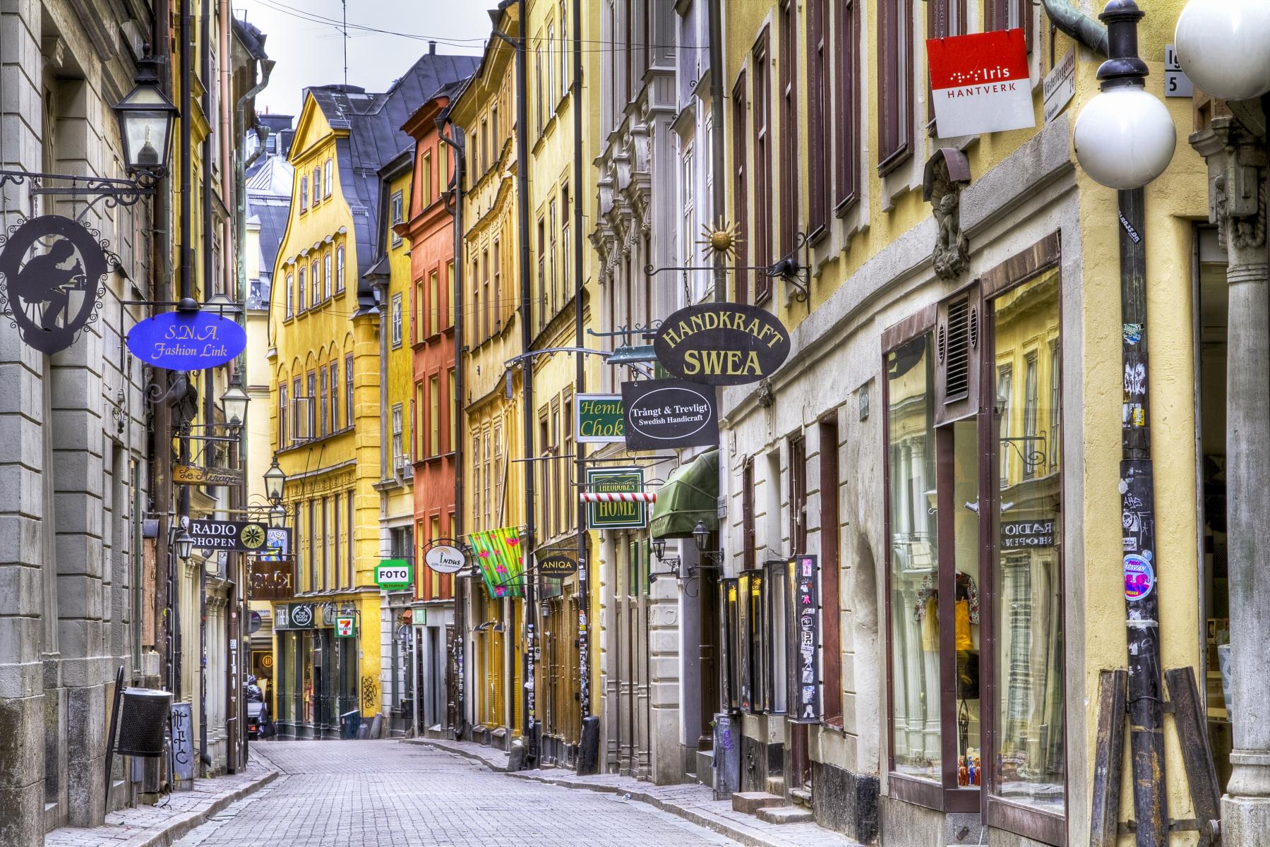 Stockholm city tappade en fjärdedel av säljet