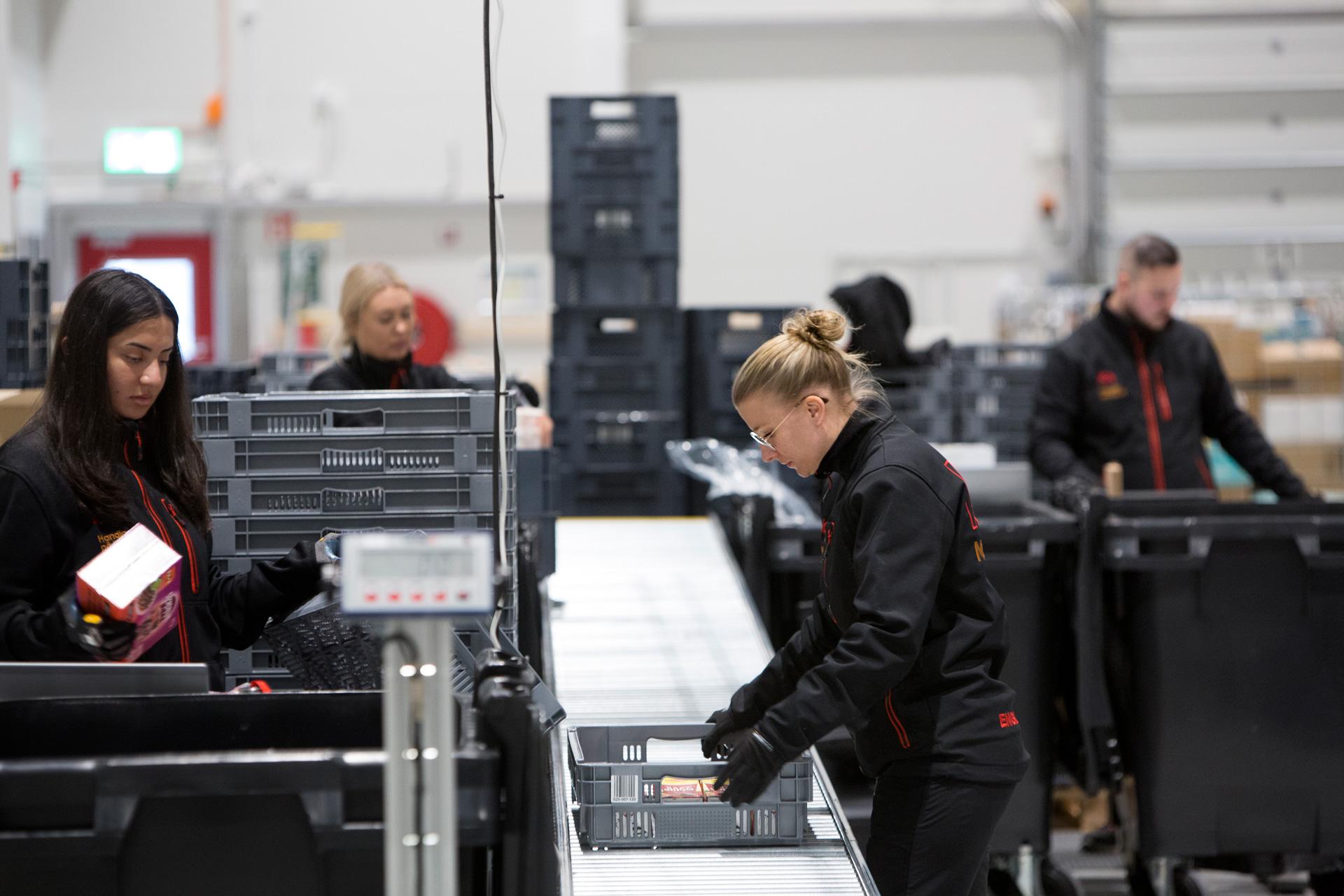 Ica har öppnat nya stora e-handelslagret