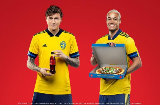 Pizza ska ge draghjälp åt Coca-Cola inför EM