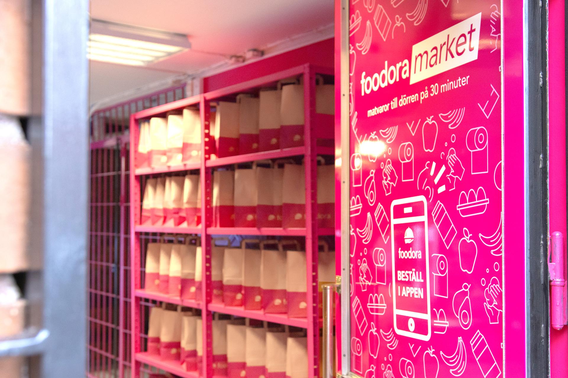 Tre nya butiker öppnas i Foodoras nysatsning