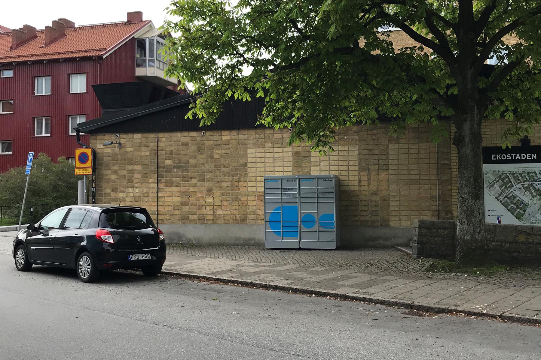 Postnord satsar på paketboxar i Malmö