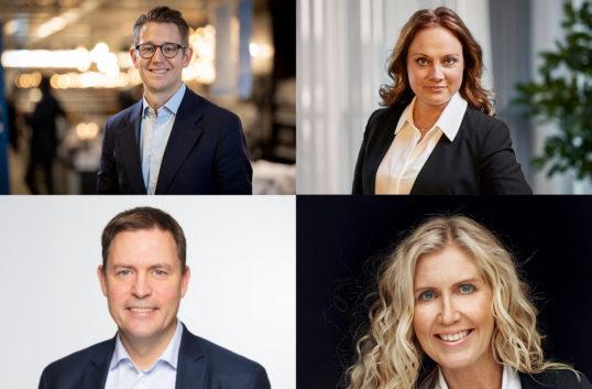 Fyra nya tar plats i Svensk handels ledning