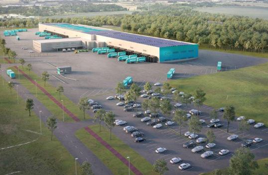 Ny paket- och postterminal i Norrköping