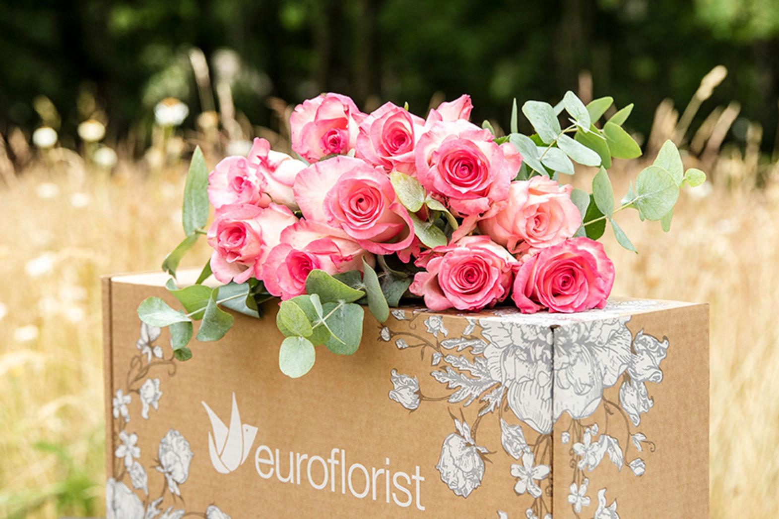 Första blombuden med hållbara rosor är här