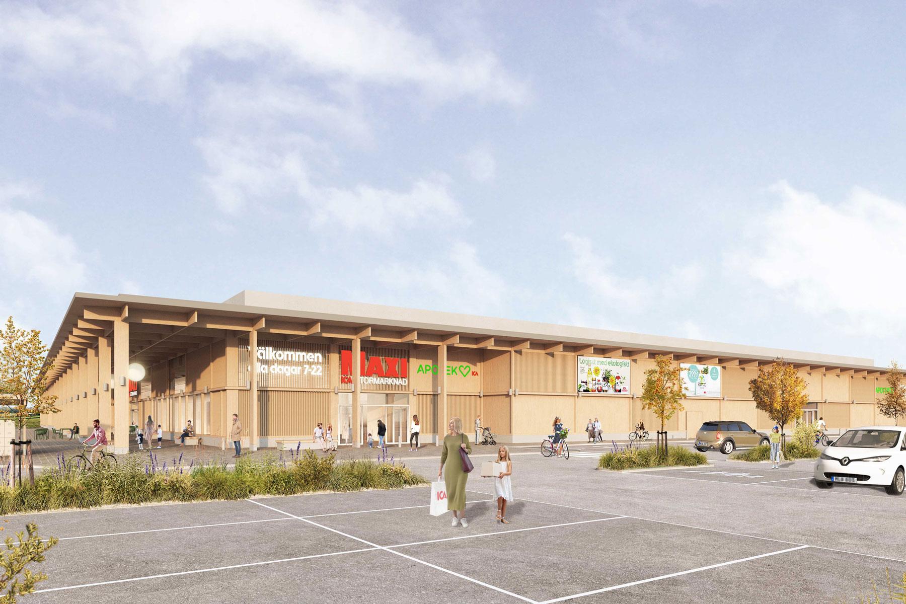 Ica Maxi bygger sitt mest hållbara hus