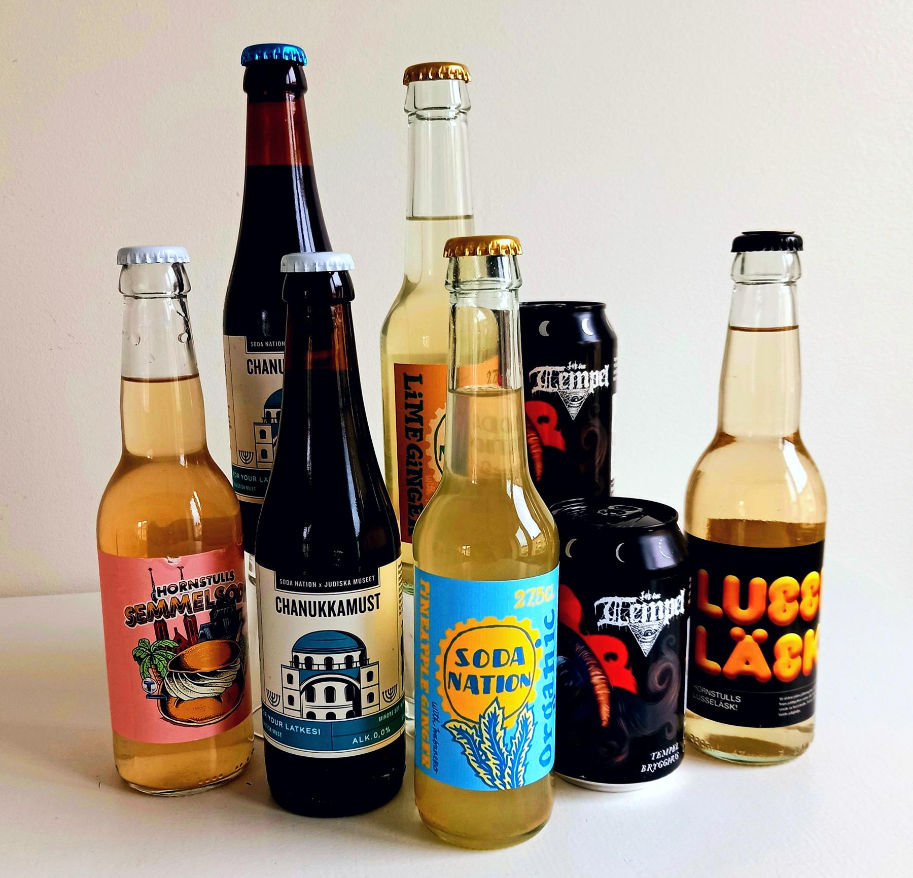 Soda Nation inleder samarbete med Martin Servera