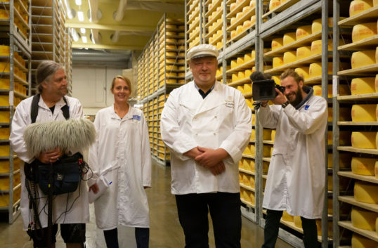 Tysk tv gör program om Västerbottensost