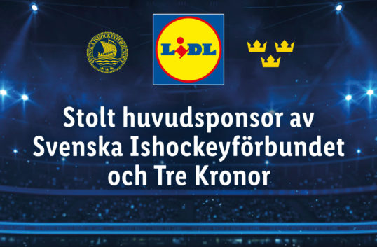 Nu ska Lidl sponsra svensk landslagshockey