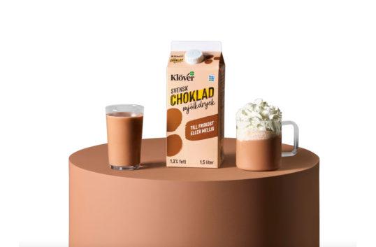 Arla lanserar mjölkdryck Klöver choklad