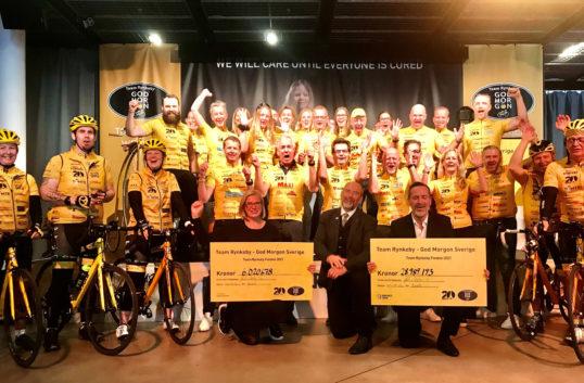 Team Rynkeby bakom 35 miljoners-donation